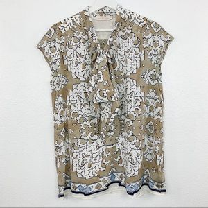 Tory Burch Multi Print Tie Top 12